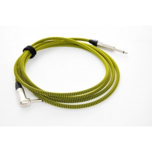 Kohlman Guitar and Bass cable - yellow