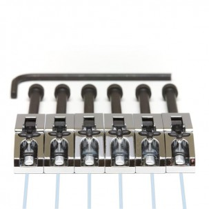 Graphtech PN-0080-C6 : Ghost Floyd Rose Style Pickups - Chrome 6 String