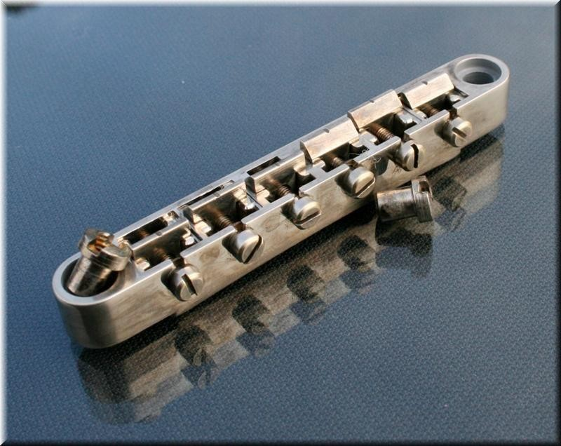 Faber Locking bridge ABRL-59NA, Nickel plated, nickel plated