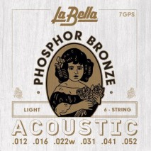Labella 7GPS Phosphor Bronze - Light 12-52