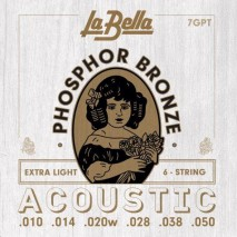 Labella 7GPT Phosphor Bronze - Extra Light 10-50