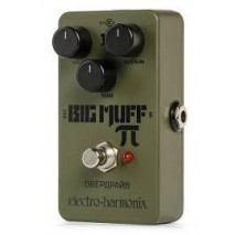 EHX Green Russian Big Muff Distortion/Sustainer