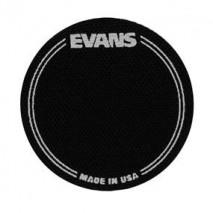 Evans EQ Black Nylon Single Patch