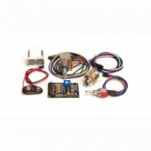 Graphtech PK-0340-00 : Ghost Acousti-Phonic Preamp Kit for Bass (Advanced)