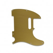 WDMUSIC TELECASTER® - BRUSHED GOLD pickguard