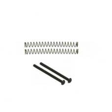 Humbucker Philip screw set of 2 black with springs