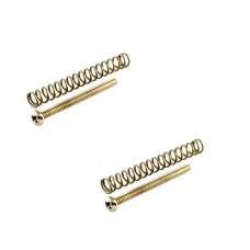 Humbucker Philip screw set of 2 nickel with springs