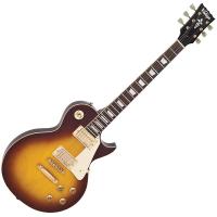 Vintage V100 ReIssued Electric Guitar ~ Tobacco Sunburst