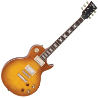 Vintage V100 ReIssued Electric Guitar ~ Lemon Drop