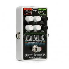 EHX Nano Battalion Bass Preamp & Overdrive
