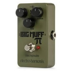 EHX Green Russian Big Muff Distortion/Sustainer