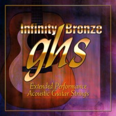 GHS INFINITY BRONZE 011 Coated Acoustic String