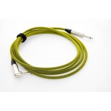 Kohlman Guitar and Bass cable - yellow-4.5m