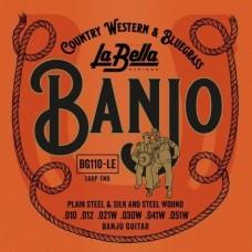 Labella BG110-LE Banjo Guitar, Loop-Ends