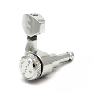 PRL-8721-C0 : Ratio Electric Locking Machine Heads 6 in-line chrome