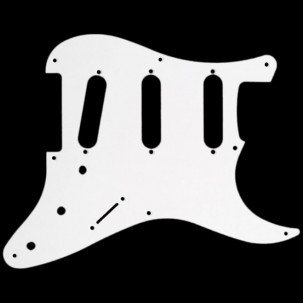 Japan Strat Pickguard white