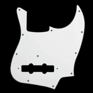 Japan Jazz Bass Pickguard white