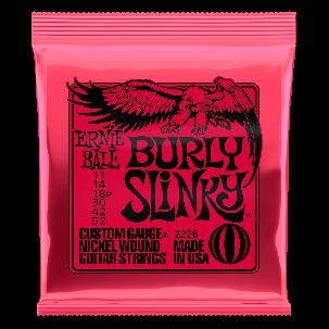 Ernie Ball Burly Slinky Nickel wound Electric Guitar Strings - 11-52 Gauge