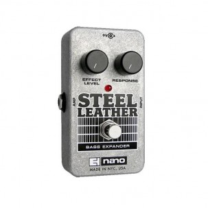 EHX Steel Leather Attack Expander for Bass Guitar