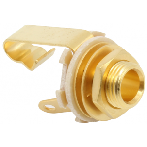 "Switchcraft, ¼"" Jack Mono Gold Plated"
