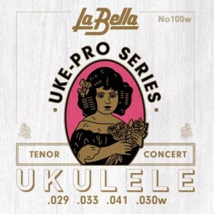 Labella 100W Uke-Pro, Concert/Tenor Wound 4th