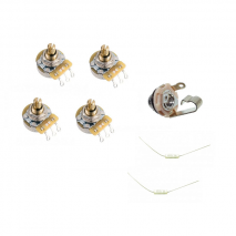 Prewired 2x volume-2x tone with caps