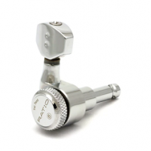PRL-8721-C0 : Ratio Electric Locking Machine Heads 6 in-line chrome