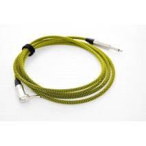 Kohlman Guitar and Bass cable - yellow