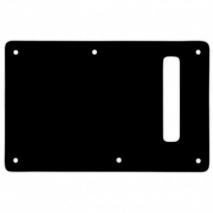 WD Custom Pickguards Backplate For Modern Fender Stratocaster Black