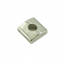 WDMusic Clamping Block For WD FGR1 & GHL1 Locking Nuts Chrome