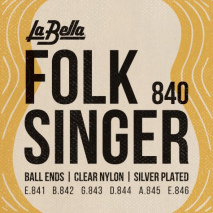 Labella 840 Folksinger – Clear Nylon