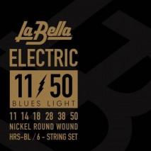 Labella HRS-BL Electric Guitar - Blues Light 11-50