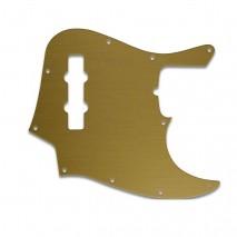 WDMUSIC JAZZ BASS® - BRUSHED GOLD pickguard
