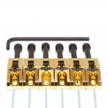 Graphtech PN-0080-G6 : Ghost Floyd Rose Style Pickups - Gold 6 String