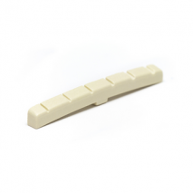 Graphtech PQL-5000-AG : TUSQ XL AGED FENDER STYLE SLOTTED NUT