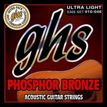 GHS PHOSPHOR BRONZE 6-STRING 10-46