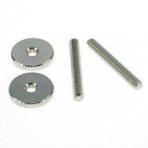 Faber ST-MNG, 4mm Metric, '59ABR Studs/Thumbwheel Kit (pair),nickel,gl