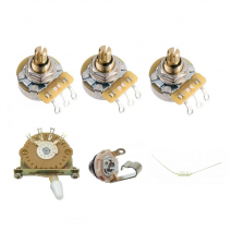 Prewired standard stratocaster config