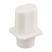 Japan Tele switch knob tophat white Inch size