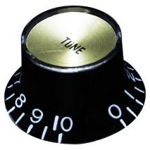 Japan Knob Tone Black, w/Gold plate(Inch size)