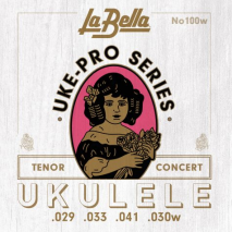 Labella 100W Uke-Pro, Concert/Tenor Wound 4th