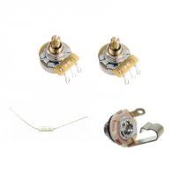 Prewired volume-tone with cap