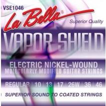 Labella VSE1046 VAPOR SHIELD ELECTRIC GUITAR STRINGS – REGULAR 10-46
