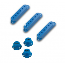 WDMusic strat knobs and covers set Blue